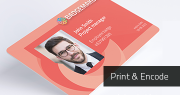 Get BadgeMaker Print & Encode access badges