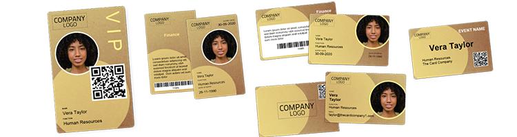 BadgeMaker Premium Card Design Templates