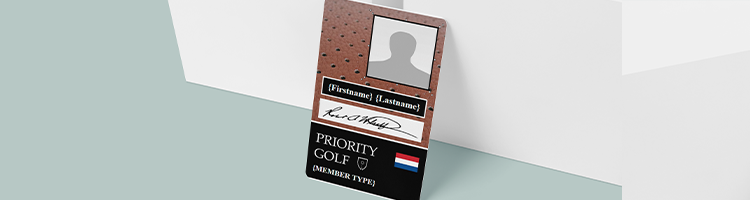 Add a photo, signature and Dynamic logo with id card maker BadgeMaker
