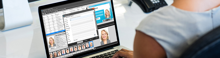 Employee Badge Maker: Add new record